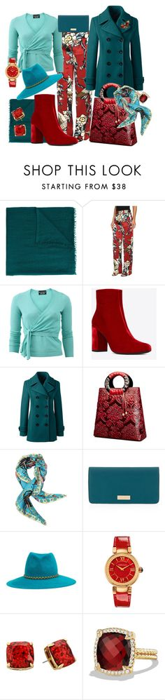 """""""CLARISSA"""" by oksana-chmel ❤ liked on Polyvore featuring Faliero Sarti, Dsquared2, Boutique Moschino, Yves Saint Laurent, Lands' End, Christian Lacroix, Henri Bendel, YOSUZI, Versace and Kate Spade"""