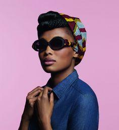She looks dapper! | ALAIN MIKLI IMANY COLLECTION ~African fashion, Ankara, kitenge, African women dresses, African prints, African men's fashion, Nigerian style, Ghanaian fashion ~DKK