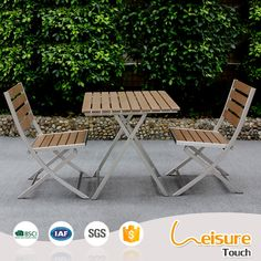 minimalist stacked waterproof chairs sweet shop cafe aluminum polywood folding chair and table