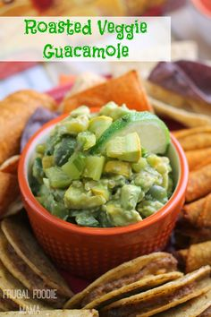 Roasted Veggie Guaca