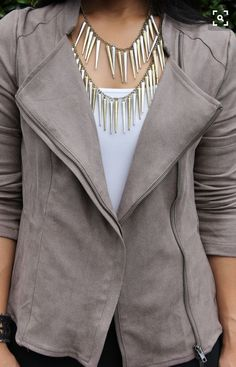 I could use a jacket like this.Stitch fix inspiration 2016.  Try stitch fix :) personal styling service!   1. Sign up with my referral link. (Just click pic)  2. Fill out style profile! Make sure to be specific in notes.   3. Schedule fix and Enjoy :)   There's a $20 styling fee but will be put towards any purchase! https://www.stitchfix.com/referral/6564958