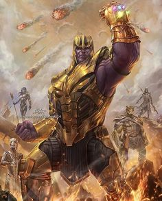 Avengers Infinity War Thanos and the Black Order Ms Marvel, Marvel Avengers, Captain Marvel, Iron Man Avengers, Thanos Marvel, Marvel Villains, Marvel Comic Universe, Marvel Comics Art, Comics Universe