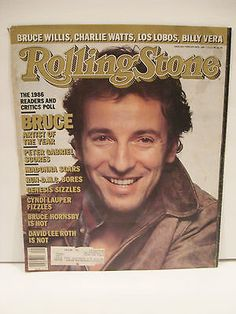 Rolling Stone Issue 494 Bruce Springsteen Magazine AD 1987