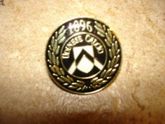 Udinese Calcio 1896 soccer pin badge.