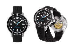 Vous recherchez une montre plongée, Tissot a conçu pour vous la Seastar 1000 automatic. La Tissot Seastar est disponible à environ 650 euros.