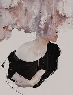 Untitled 03 Mini Art Print by Januz Miralles - Without Stand - x Framed Art Prints, Canvas Prints, Mixed Media Artists, Figurative Art, Love Art, Oeuvre D'art, Art Projects, Art Drawings, Contemporary Art