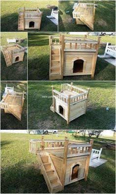 29 best wood dog house images in 2019 wooden dog house big dogs rh pinterest com