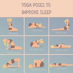 These yoga poses restore balance to your body and mind and can help you relax and sleep at night. Yoga Poses For Sleep, Sleep Yoga, Sleep Help, Kids Sleep, Upward Dog, Restorative Yoga Poses, Kid Poses, Yoga For Kids, Good Night Sleep