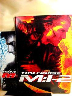 Movie Program Japan SET- M:I-2, M:I:III /2000/2006/MISSION IMPOSSIBLE-TOM CRUISE