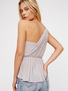 Bella One Shoulder Top from Free People!
