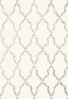 MIRADOR, White Pearl, T14249, Collection Imperial Garden from Thibaut.  Maybe for a powder room someday