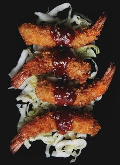 Making Ebi Fry (海老フライ) / Japanese Fried Shrimp with Katsu Sauce   Notions & Notations of a Novice Cook
