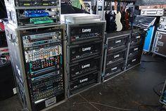 Tony Iommi stage rig
