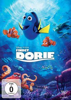 Finding Dory - German DVD Packshot - Findet Dorie - Disney Pixar - kulturmaterial
