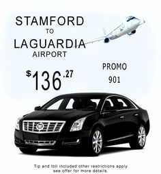Stamford Connecticut Limo service to NYC and the Airport.