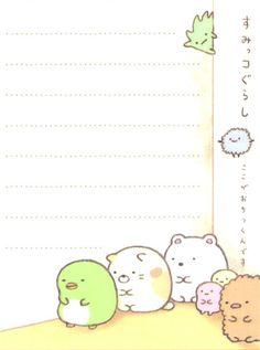 Sumikkogurashi animal in corner squares mini Note Pad 4