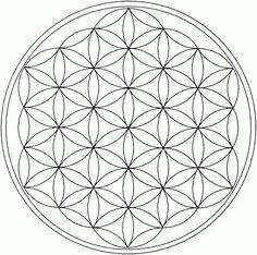 Kleurplaten en Templates gemaakt in het Mandala Atelier van praktijk De Witte Waterlelie... Als er een ingekleurd / ingevuld voorbeeld...