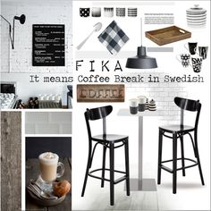 Coffee break - Sweden by szaboesz on Polyvore featuring interior, interiors, interior design, home, home decor, interior decorating, Williams-Sonoma, The French Chefs, ferm LIVING and Eva Solo