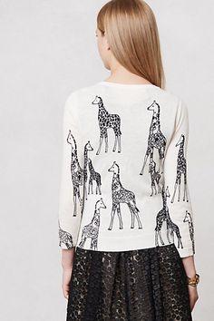 giraffe snuggles