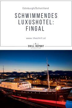 Schwimmendes Luxushotel in Schottland: Fingal - The Chill Report Restaurant Bar, Glasgow, Chill, Movie Posters, Edinburgh Scotland, International Waters, Concerts, Cruises, Film Poster