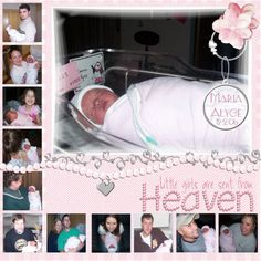 Newborn Layouts - Page 2 - DigiShopTalk Digital Scrapbooking