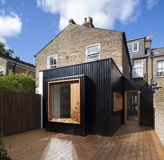 London house extension