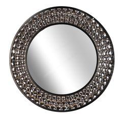House of Hampton Jeweled Wall Mirror & Reviews | Wayfair