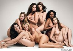 CAN THE PLUS SIZE MODELS PUT SOME CLOTHES ON YET