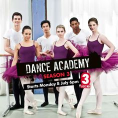 If you're not already, watch Dance Academy Season 3 - the best one YET!!!!