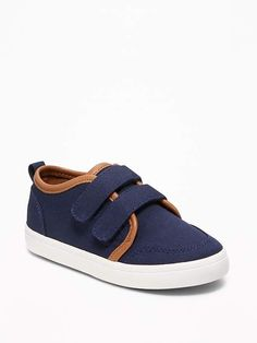 95f7444b9d2 Old Navy Secure-Strap Canvas Sneakers for Toddler Boys Toddler Boy Style