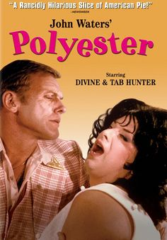 John Waters' Polyester starring Divine and Tab Hunter (as Francine Fishpaw and Todd Tomorrow), 1981 Amazon Movies, Movies Online, John Waters Movies, Stiv Bators, Jazz, Tab Hunter, Friends Come And Go, American Pie, Moving Pictures