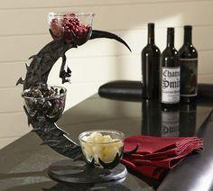 Bat Branch Condiment Set | Pottery Barn '13- I  like the cauldron condiment set, too