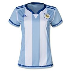 604a40c54 2016 Argentina Home Women s Soccer Jersey Shirt  argentina  worldcup   russia2018  addidas