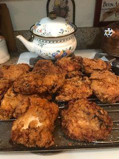 Homemade Fried Chicken, Tandoori Chicken, Pork, Meat, Ethnic Recipes, Kale Stir Fry, Pork Chops