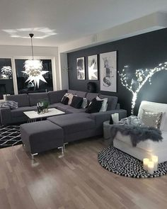 Elegant black decor