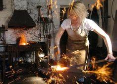 Blacksmithing. Love it!