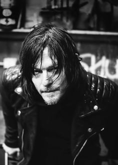 Norman Reedus photographed by Jamie Burke for the cover of So It Goes Magazine, Issue 5