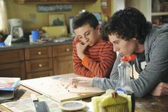 Charlie McDermott as Axl Heck - The Middle ... Still of Charlie McDermott and Atticus Shaffer in The Middle.