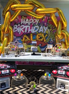 """""""Two Legit to Quit"""" Rapper Geburtstagsfeier – Party Ideas 2nd Birthday Party For Boys, Prince Birthday Party, 90th Birthday Parties, Boys 2nd Birthday Party Ideas, Prince Party, Baseball Birthday, Baseball Party, Ballon Party, Party Party"""