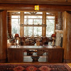 hirsh log homes Cabin In The Woods, Cottage Exterior, Timber House, Ski Chalet, Red Cedar, Whistler, Log Homes, Custom Homes, Custom Design