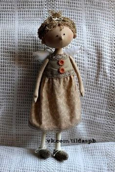 Кукла Тильда (СПб)/ Купить игрушку ручной работы | VK