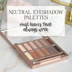 #ad these are the best neutral eyeshadow palettes at all price points!