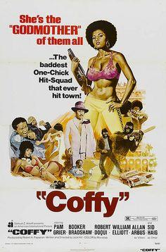 Coffy (1973) USA AIP Action crime. D/Sc: Jack Hill. Pam Grier, Sid Haig. (4/10) 24/04/15