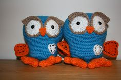 Giggle and Hoot! My Grandmother, Grandmothers, Love Crochet, Crochet Toys, Party Party, Owls, Ravelry, Crocheting, Amanda