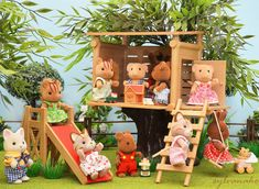 sylvanian families-Tree house | by Sylvanako