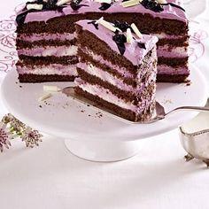 Schokoladen-Brombeer-Torte Rezept   LECKER