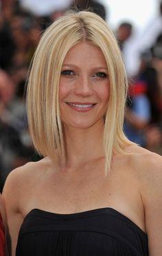 carré plongeant long et coiffure tendance pour femme