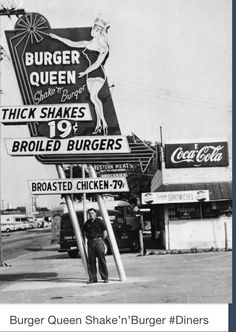 So before Burger King there was Burger Queen