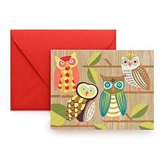Owls Note Cards