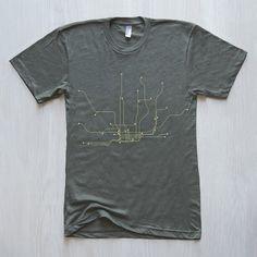 Toronto T-Shirt – LinePosters